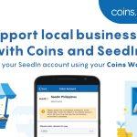 fund seedin account using coins wallet